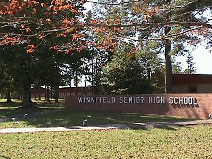Landscape View facing Winnfield Senior High School