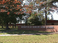 Landscape View facing Winnfield Senior High School