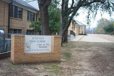 Landscape View facing Dodson High School