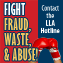 Fight Fraud, Waste, and Abuse.