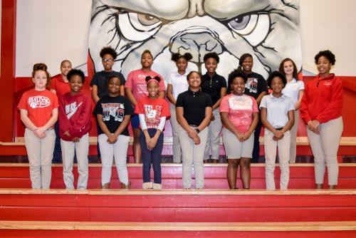 The Atlanta High School Junior High Girls Basketball Team