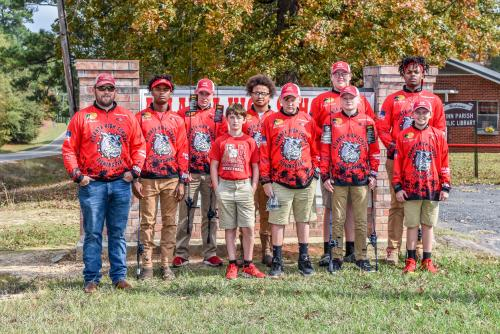 The Atlanta High School Fishing Team