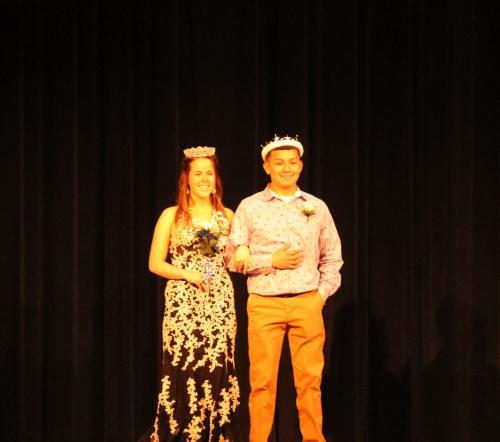 Mr and Miss WDHS