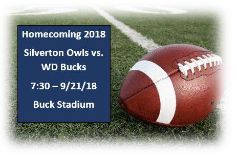 Homecoming Game Sept. 21