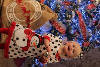 Kenzie second Christmas