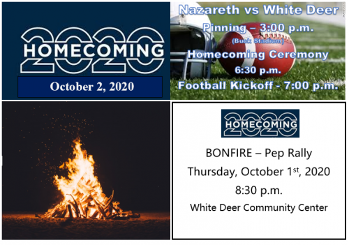 Events for Homecoming 2020