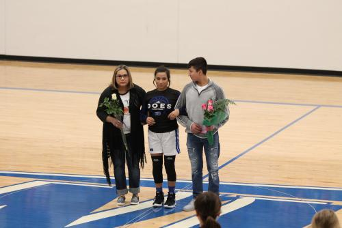 S. Rodriquez Senior night 2019