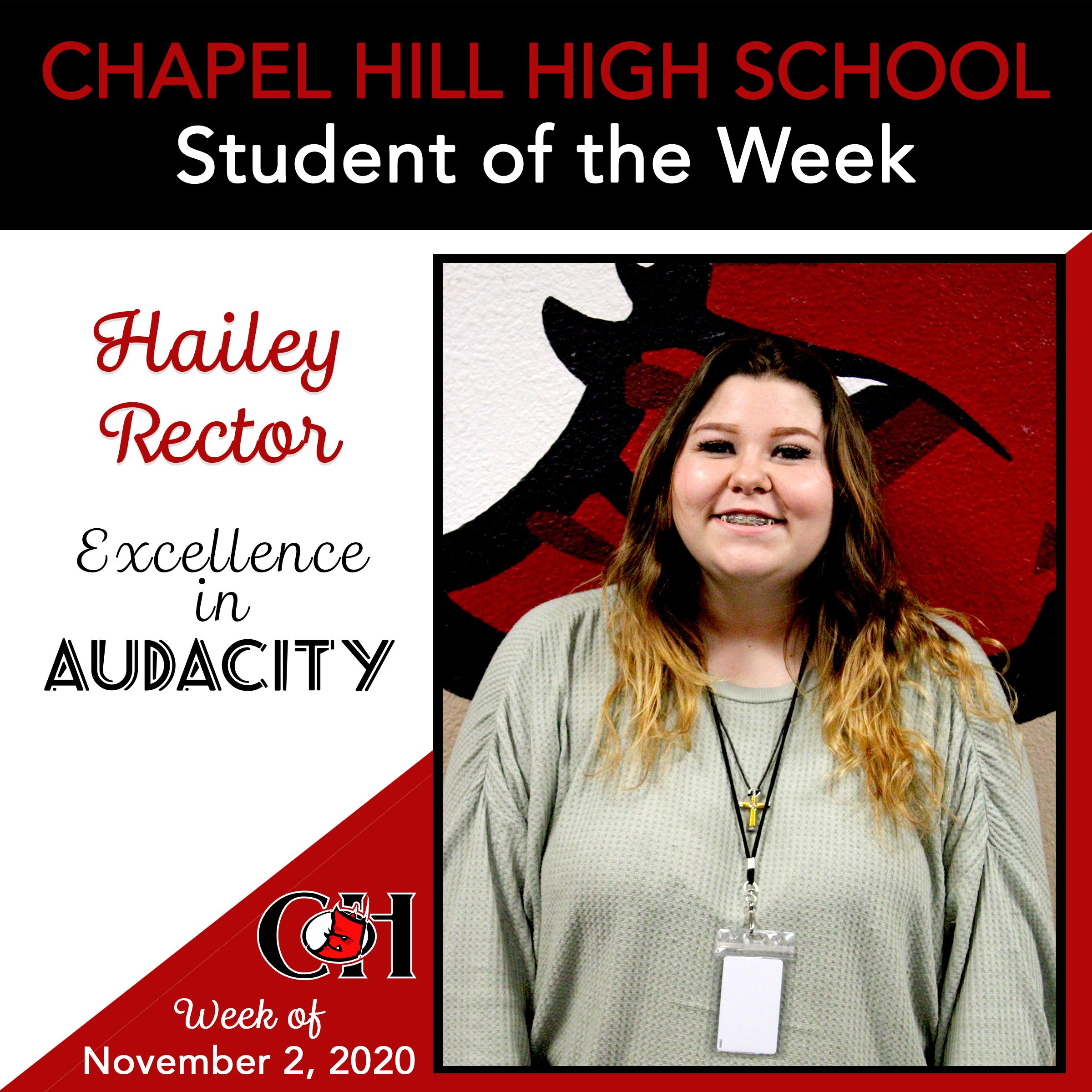 Hailey Rector - Audacity