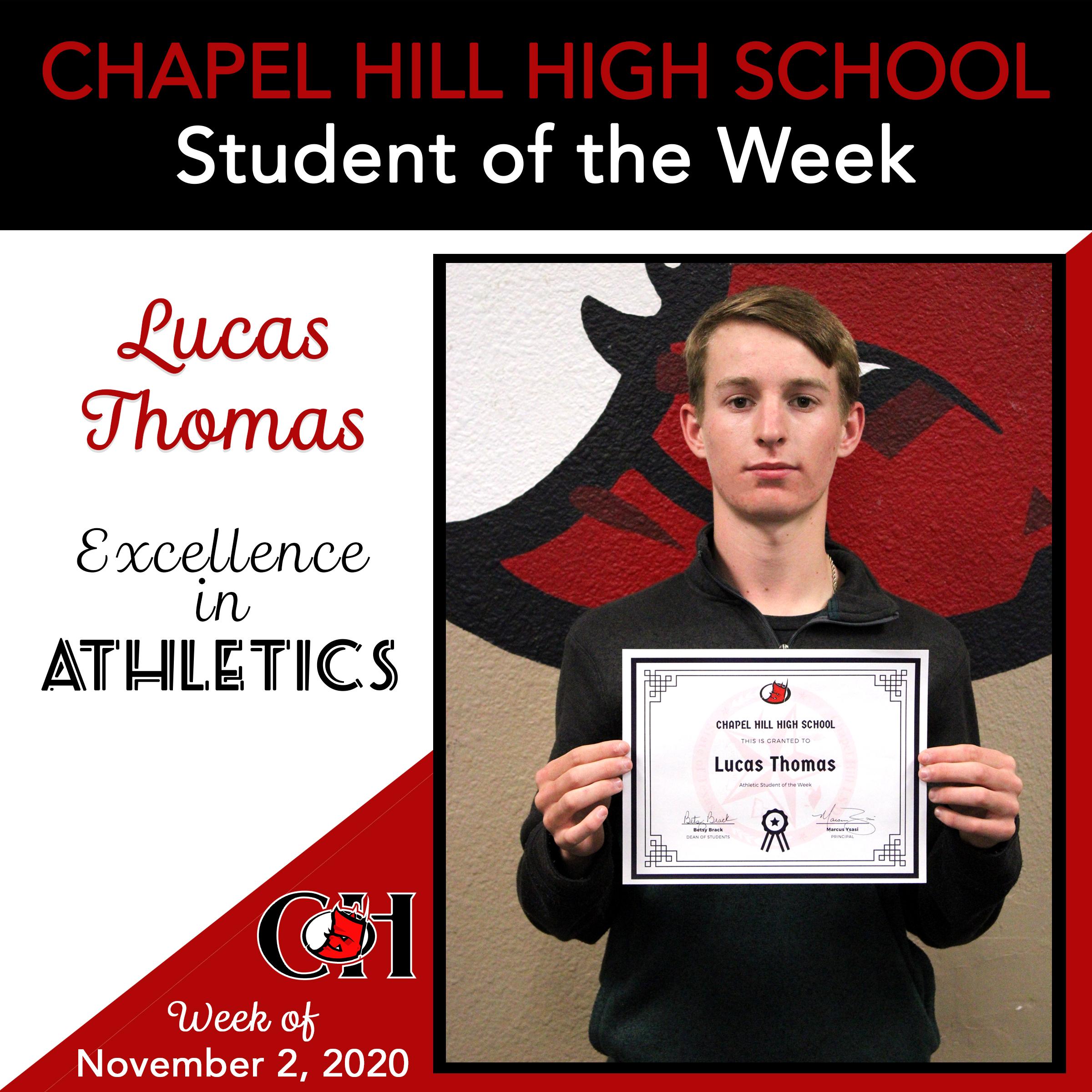 Lucas Thomas - Athletics