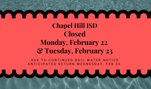 Closed Feb 22 & 23