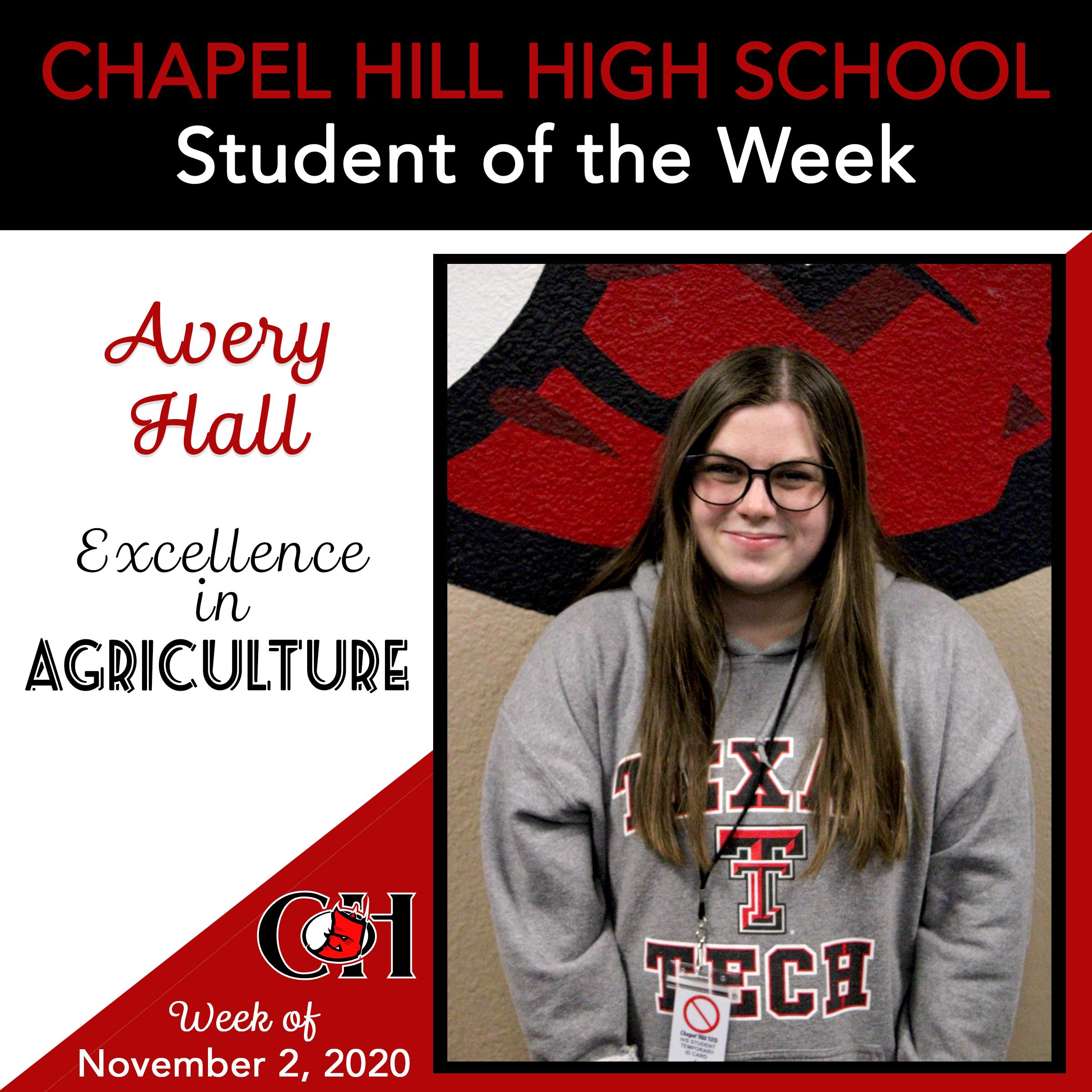Avery Hall - Ag