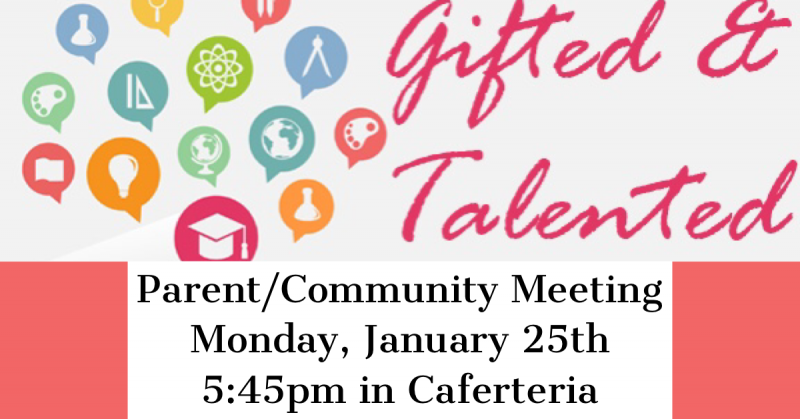 GT Parent/Community Meeting