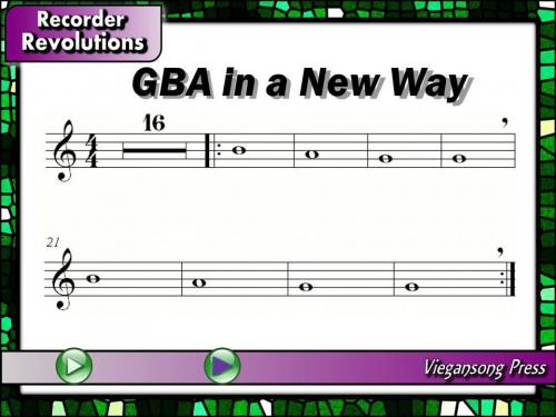 GBA in a New way