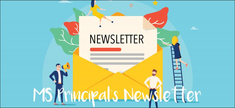 MS Principal's Newsletter