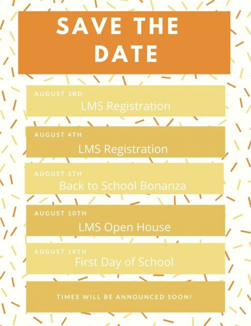 LMS Save the date