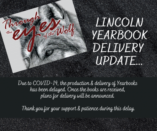 Lincoln Yearbook Delivery Update Flyer