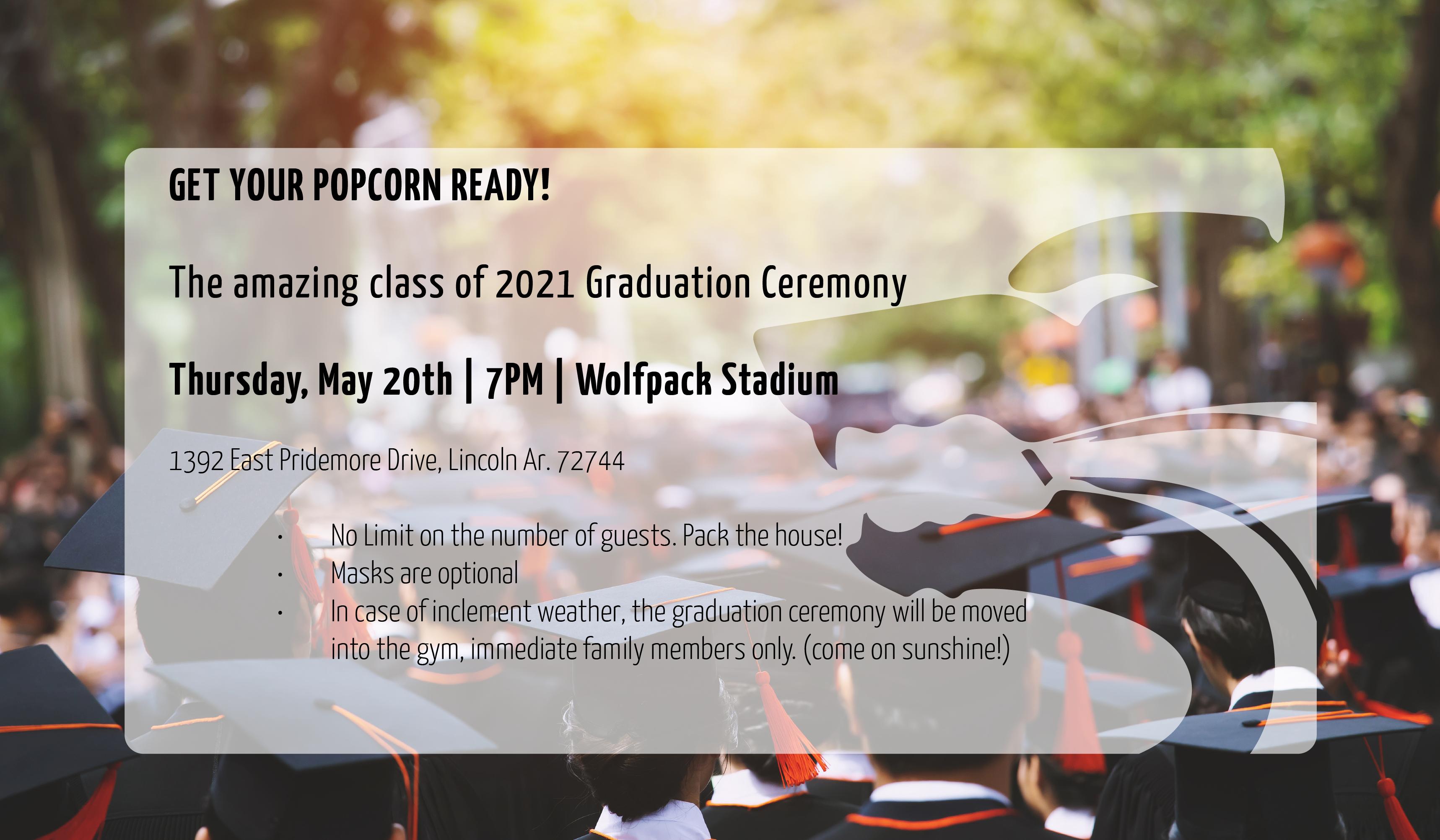 Graduation 2021 Details