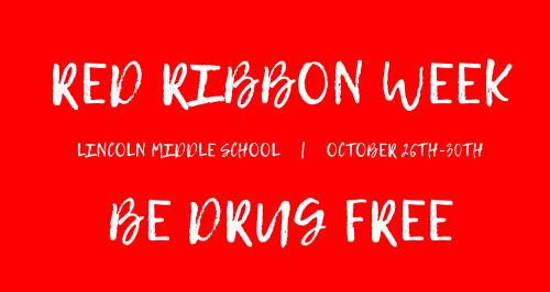 MS Red Ribbon Week!