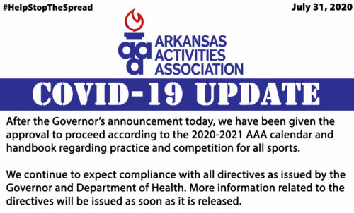 AAA Covid-19 Update