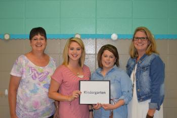 Kindergarten Teachers: Mrs. Fallen, Mrs. McKendree, Mrs. Cody & Mrs. Standridge