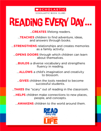 Why reading is important
