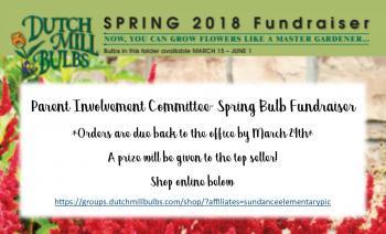 Flower Bulb Sales through March 29th