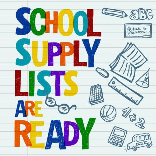 SUPPLY LISTS READY