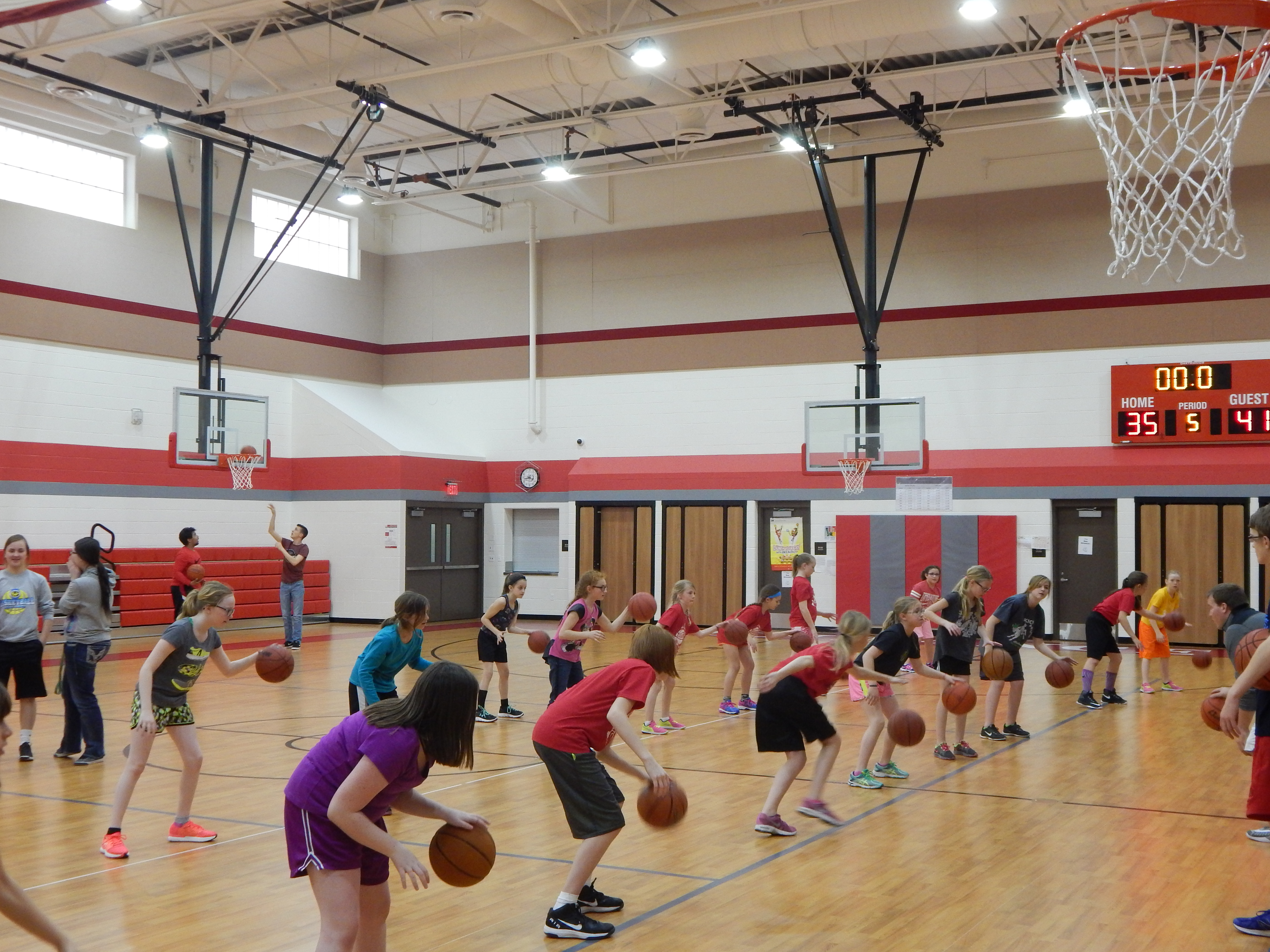 Girls Bulldog Basketball Camp