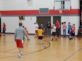 Boys Bulldog Basketball Camp