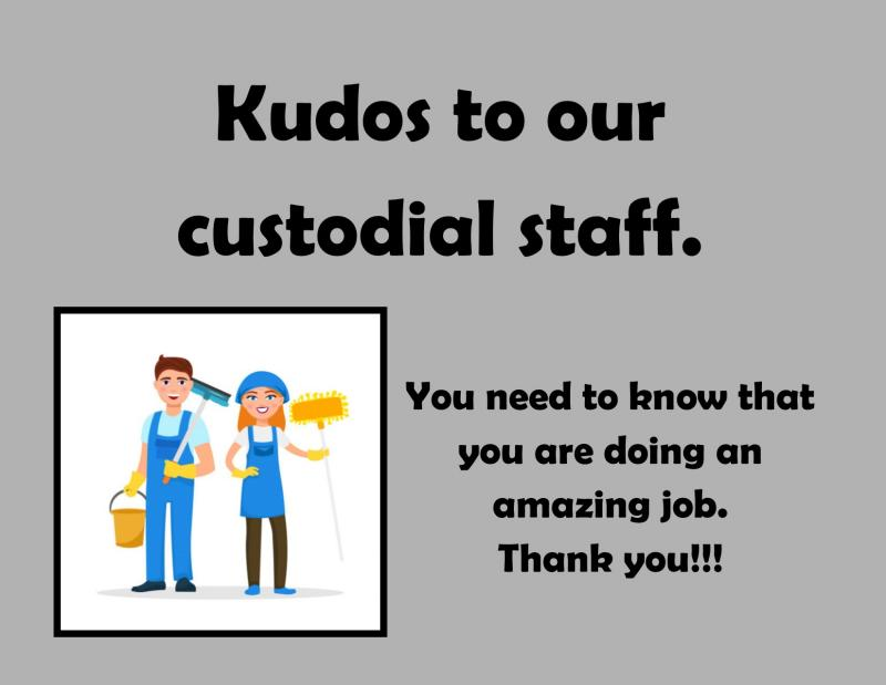 Thank you custodians