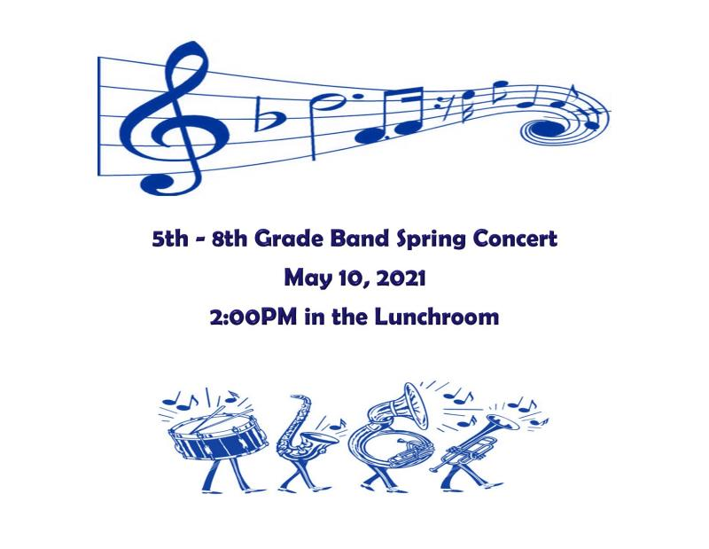 5th - 8th Band Concert