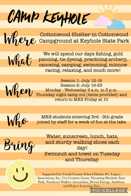 Updated Camp Keyhole Flyer