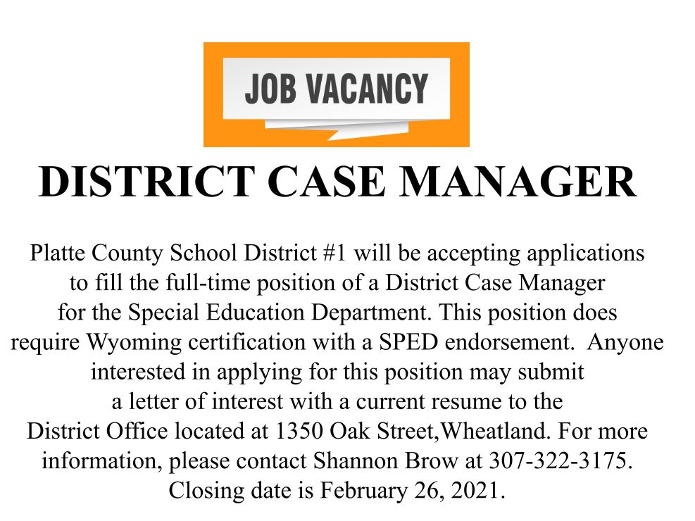 District Case Manager