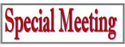 Platte1 Schedules Special Meeting