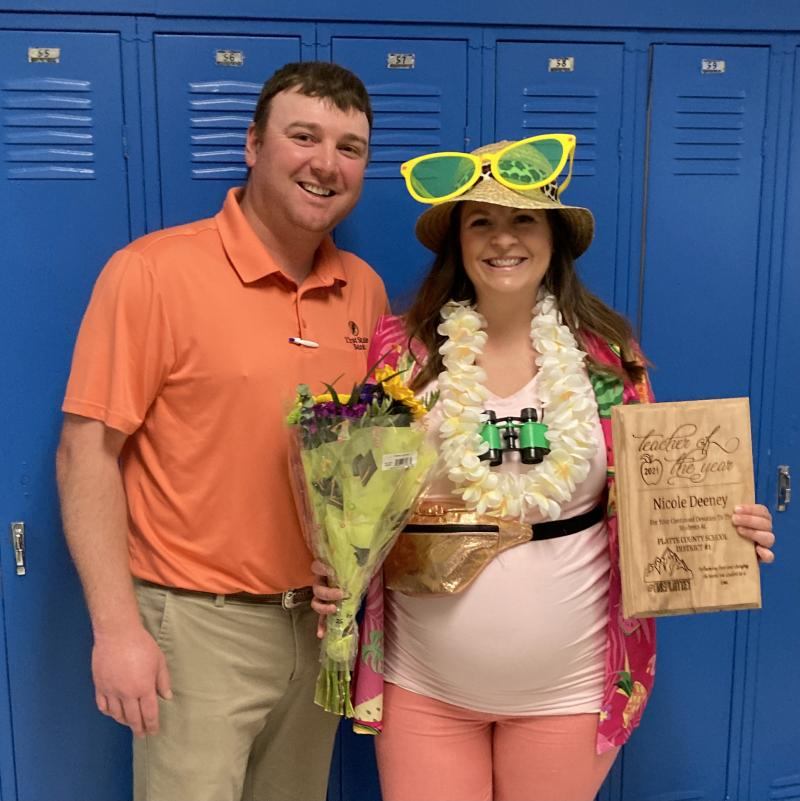 Nicole Deeney, Teacher of the Year!