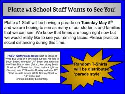 PCSD#1 Staff Would Like to See YOU
