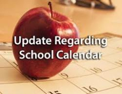 PCSD#1 2020-21 Calendar Amended at Special Board Meeting