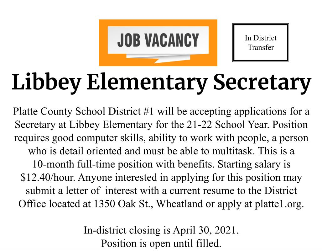 Libbey Elementary Secretary