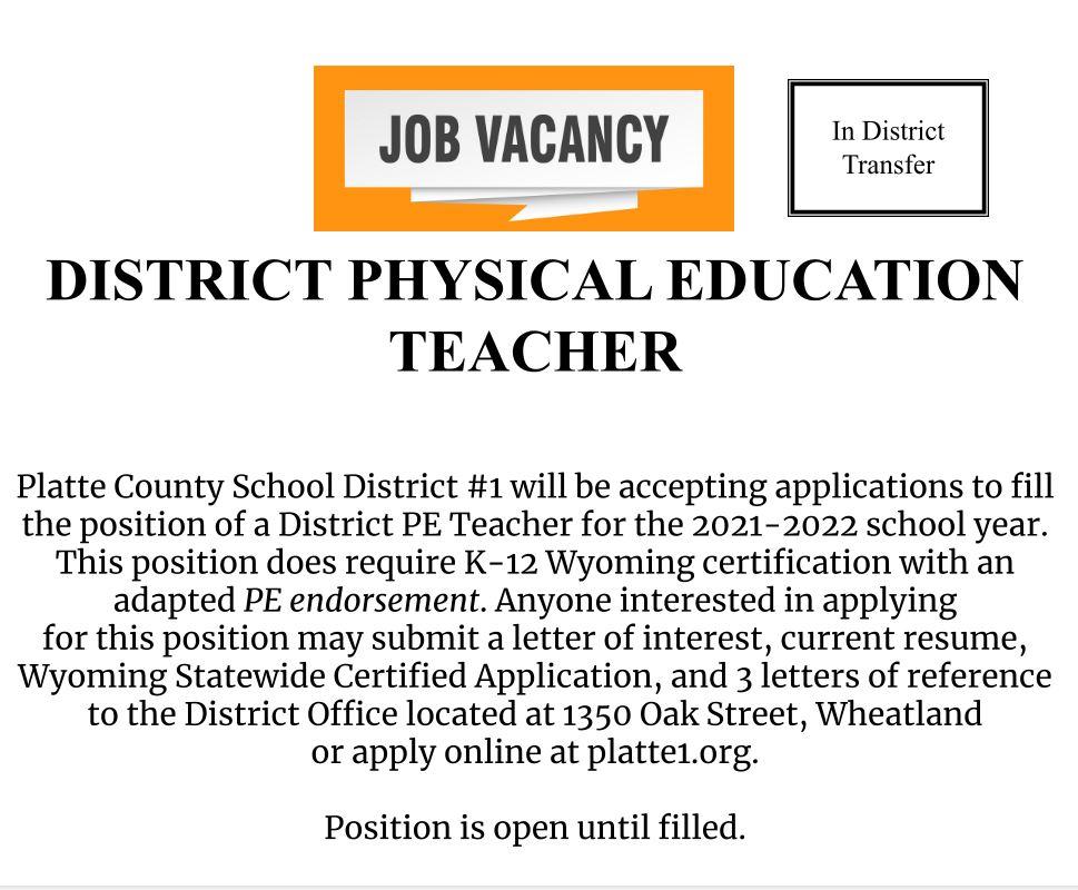 District PE Teacher