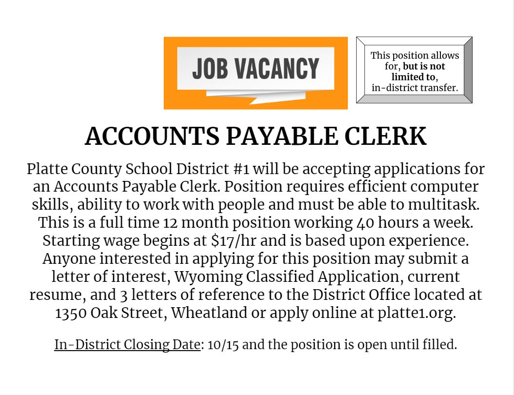 Accounts Payable Clerk