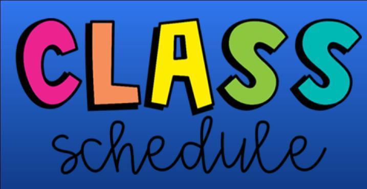 WMS Class Schedule Process