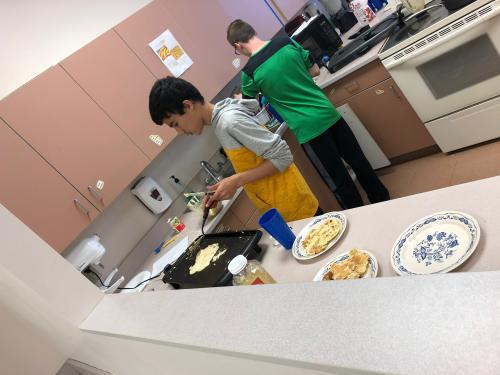 Students Cooking 8