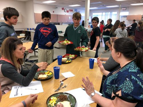 WMS Chopped Competition