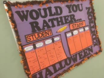 Students and Staff Answer: Would You Rather ...?