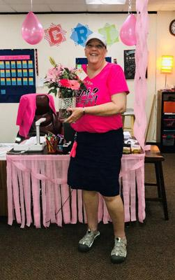 West Elementary Celebrates Mrs. Bjelkevig