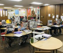 Students Benefit From Reading Local Newspaper.