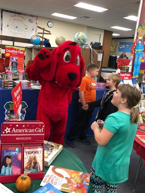 Our book fair sold about $2,700, helping us achieve our goals of putting books into the hands of students!