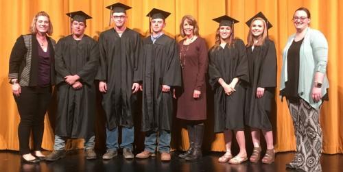 PHS Honors five graduates