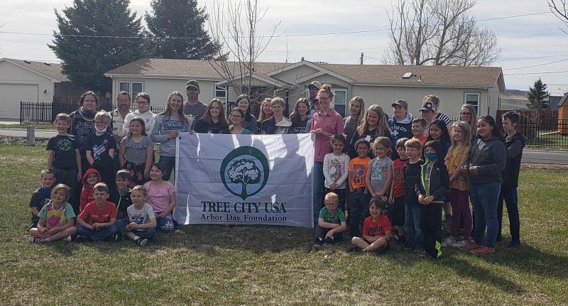 ARBOR DAY CELEBRATION with the TOWN