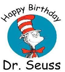 Dr. Suess Week March 1st -March 5th